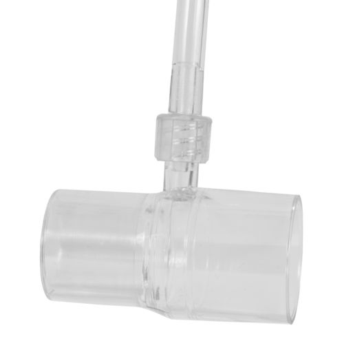 CPAP adapter including tube with Luer-Lock connection