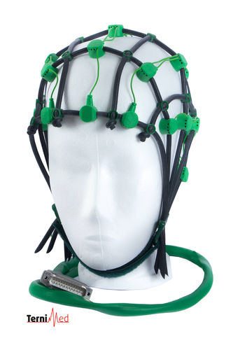 Comby EEG Cap with 22 electrodes (57-62 cm) -green-